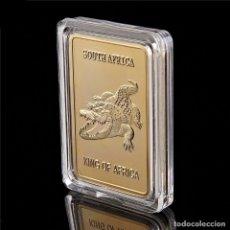 Monedas antiguas de Oceanía: EXCLUSIVO LINGOTE DE ORO CON UN COCODRILO - EDICIÓN LIMITADA -. Lote 174041618
