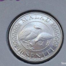 Monedas antiguas de Oceanía: TONGA 10 SENITI 2015. Lote 174066642