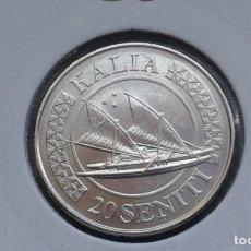 Monedas antiguas de Oceanía: TONGA 20 SENITI 2015. Lote 165108202