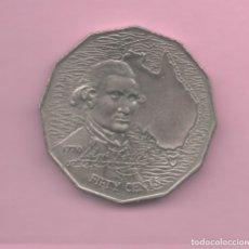 Monedas antiguas de Oceanía: AUSTRALIA - 50 CENTS 1970 KM69 CAPITAN COOK. Lote 174429593