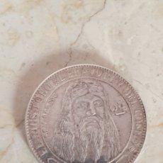 Monedas antiguas de Oceanía: MUY EXTRAÑA MONEDA EL DIOS TORO EL BRAVO REY DEL COSMOS PLATA 900 MILESIMAS. Lote 149205830