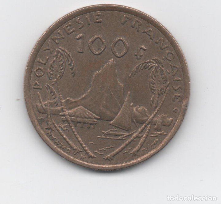 POLINESIA - 100 FRANC (Numismática - Extranjeras - Oceanía)