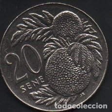 Monedas antiguas de Oceanía: SAMOA, 20 SENE 2002, 28MM, MUY ESCASA, MBC . Lote 176675705