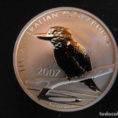 Monedas antiguas de Oceanía: AUSTRALIA. 1 ONZA DE PLATA. 5 DOLARES. KOOKABURRA. 2007.. Lote 177403784