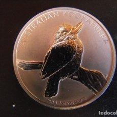 Monedas antiguas de Oceanía: AUSTRALIA. 1 ONZA DE PLATA. 5 DOLARES. KOOKABURRA. 2010.. Lote 177403948