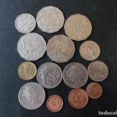 Monedas antiguas de Oceanía: CONJUNTO DE MONEDAS DE AUSTRALIA ALGUNAS DIFICILES . Lote 177864757