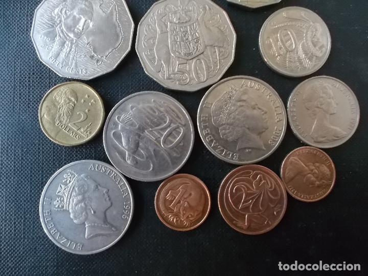 Monedas antiguas de Oceanía: conjunto de monedas de Australia algunas dificiles - Foto 4 - 177864757