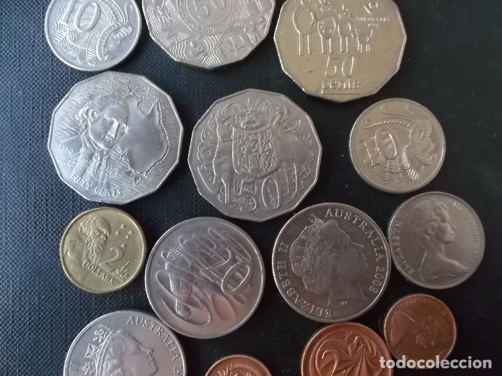Monedas antiguas de Oceanía: conjunto de monedas de Australia algunas dificiles - Foto 5 - 177864757