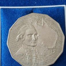 Monedas antiguas de Oceanía: AUSTRALIA - 50 CENTS - 1970. Lote 148931674