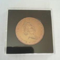 Monedas antiguas de Oceanía: UN DOLAR NUEVA ZELANDA. PLATA, CALIDAD PROF. 1981 . ESTUCHADO ORIGINAL. Lote 180493747