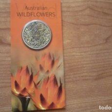 Monedas antiguas de Oceanía: AUSTRALIAN WILDFLOWERS TOKEN 2007.BLISTER NUEVO.. Lote 182749905