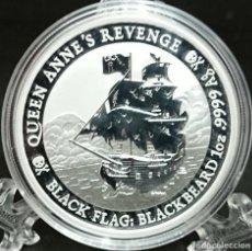 Monedas antiguas de Oceanía: TUVALU - QUEEN ANNE'S REVENGE - 2019. Lote 183424485