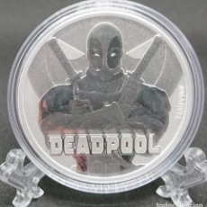 Monedas antiguas de Oceanía: TUVALU - SERIE MARVEL - Nº5 - DEADPOOL - 2018. Lote 183425555