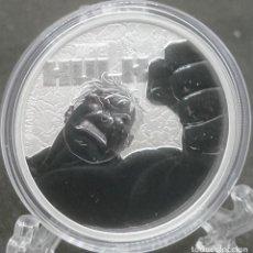 Monedas antiguas de Oceanía: TUVALU - SERIE MARVEL - Nº7 - HULK - 2019. Lote 183425687