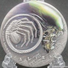 Monedas antiguas de Oceanía: TUVALU - ALIEN 40 ANIVERSARIO - 2 ONZAS - 2019. Lote 183426517