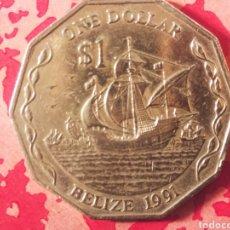 Monedas antiguas de Oceanía: 1 DÓLAR 1991 BELICE. Lote 183502460