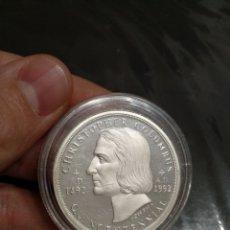 Monedas antiguas de Oceanía: ONZA CRISTÓBAL COLÓN MAGNÍFICA. Lote 183513726