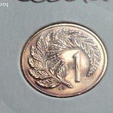 Monedas antiguas de Oceanía: NUEVA ZELANDA 1 CENTAVO 1987. Lote 183924398