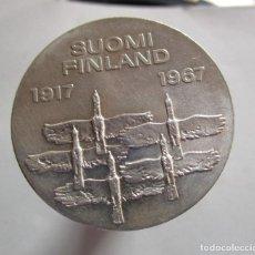 Monedas antiguas de Oceanía: FINLANDIA . 10 MARKKAA DE PLATA ANTIGUOS. TOTALMENTE NUEVA. Lote 184623352