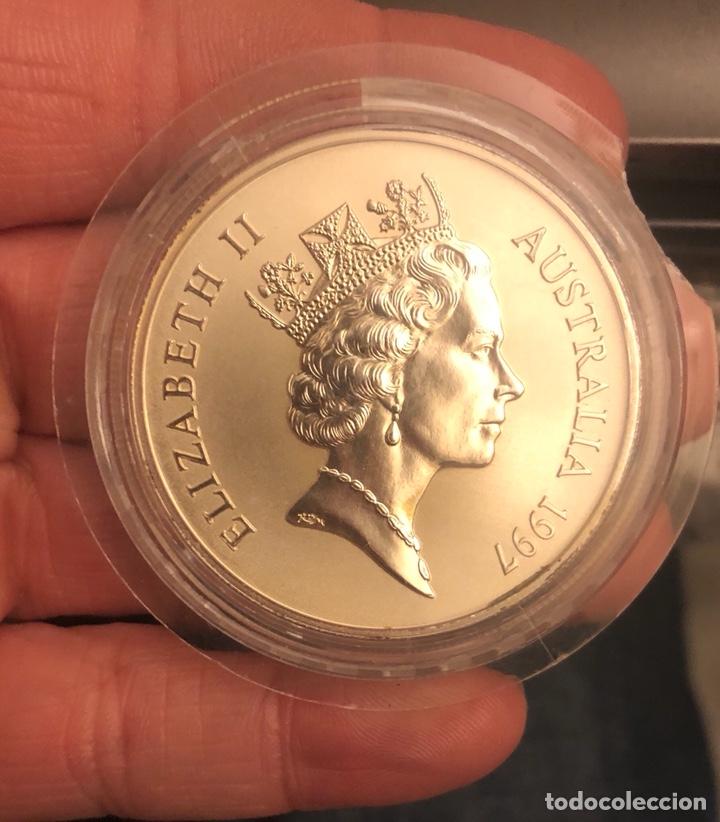 AUSTRALIA 1 ONZA 1997 CANGURO (Numismática - Extranjeras - Oceanía)