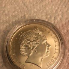 Monedas antiguas de Oceanía: AUSTRALIA 1 ONZA 2001 CANGURO. Lote 186011136