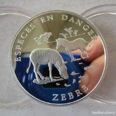 Monedas antiguas de Oceanía: BENIN . 1000 FRANCOS DE PLATA DEL AÑO 2001 . PERFECTA. Lote 198517080