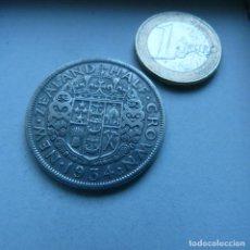 Monedas antiguas de Oceanía: MONEDA DE PLATA DE MEDIA CORONA DE NUEVA ZELANDA AÑO 1934. Lote 189194273