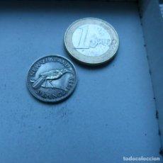 Monedas antiguas de Oceanía: MONEDA DE PLATA DE 6 PENIQUES DE NUEVA ZELANDA AÑO 1933 MBC. Lote 189196607