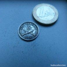 Monedas antiguas de Oceanía: MONEDA DE PLATA DE 3 PENIQUES DE NUEVA ZELANDA AÑO 1939 MBC. Lote 189197745