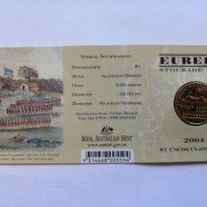 Monedas antiguas de Oceanía: AUSTRALIA. 1 DOLAR 2004. S/C. EUREKA.. Lote 190298566