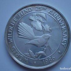 Monedas antiguas de Oceanía: 10 TALA 1986 SAMOA 38,7 MM 31,50 GR. (PLATA AG 925) SC. Lote 190782215