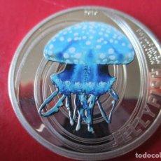 Monedas antiguas de Oceanía: ISLAS PITCAIRN. MONEDA DE 2 DOLARES DE PLATA. 2010. Lote 194315046