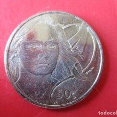Monedas antiguas de Oceanía: NUEVA ZELANDA. MONEDA DE 50 CENTAVOS 2003. Lote 194783460