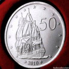 Monedas antiguas de Oceanía: MUY ESCASA S/C. COOK 50 CENTS 2010. Lote 195055042