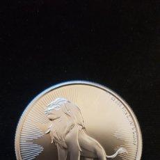 Monedas antiguas de Oceanía: 1 ONZA PLATA PURA 999%.NIUE. REY LEÓN.2019. Lote 196324531