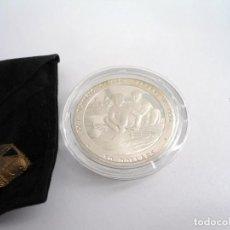 Monedas antiguas de Oceanía: NIUE 1989 - 50 DOLLARS DOLARES KM# 27 - PLATA PROOF - REMO OLIMPIADAS - SIN CIRCULAR. Lote 196943760