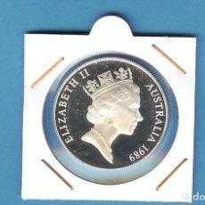 Monedas antiguas de Oceanía: PLATA-AUSTRALIA.10 DOLLARS 1989. 20 GRAMOS DE LEY 0,925. Lote 197686210