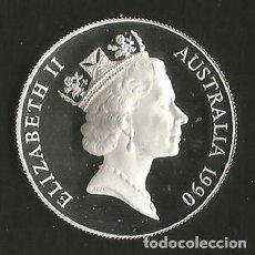 Monedas antiguas de Oceanía: AUSTRALIA - 10 DOLARES - 1990 - PLATA - NO CIRCULADA - PROOF. Lote 198298076