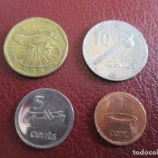 Monedas antiguas de Oceanía: ISLAS FIJI , LOTE DE MONEDAS.. Lote 198456306