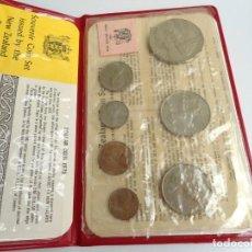 Monedas antiguas de Oceanía: NUEVA ZELANDA - CARTERA OFICIAL SOUVENIR COIN SET - AÑO 1973 - SIN CIRCULAR. Lote 198493326