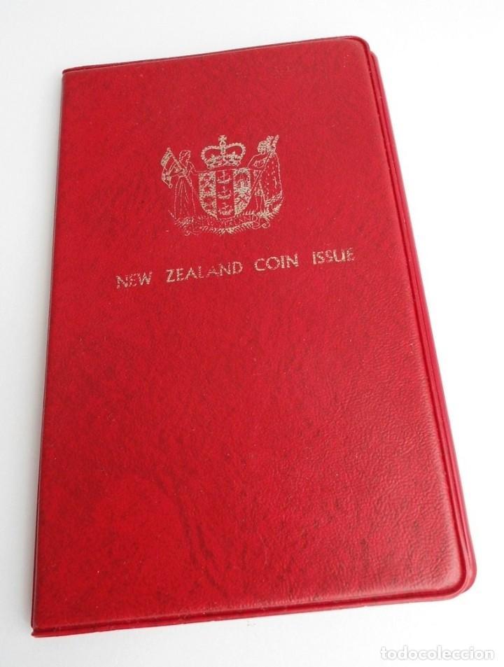 Monedas antiguas de Oceanía: NUEVA ZELANDA - CARTERA OFICIAL SOUVENIR COIN SET - AÑO 1973 - SIN CIRCULAR - Foto 2 - 198493326