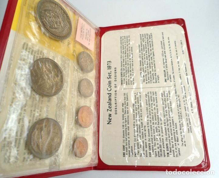 Monedas antiguas de Oceanía: NUEVA ZELANDA - CARTERA OFICIAL SOUVENIR COIN SET - AÑO 1973 - SIN CIRCULAR - Foto 3 - 198493326