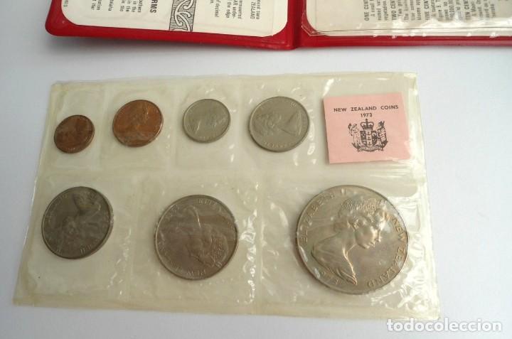 Monedas antiguas de Oceanía: NUEVA ZELANDA - CARTERA OFICIAL SOUVENIR COIN SET - AÑO 1973 - SIN CIRCULAR - Foto 4 - 198493326