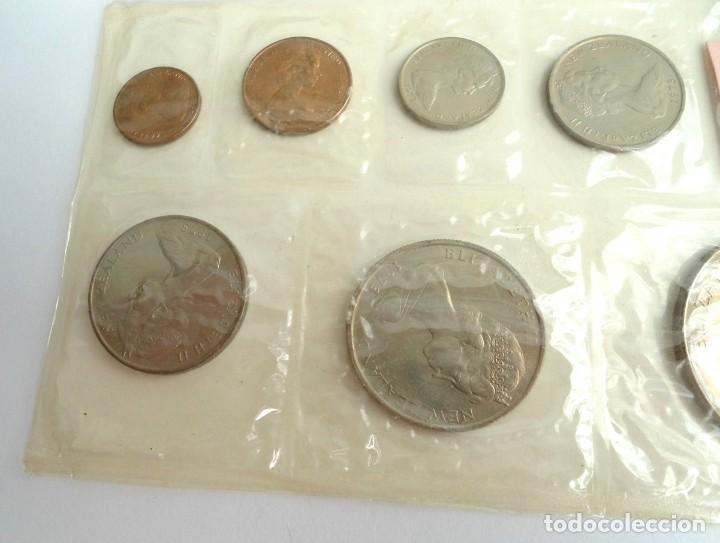 Monedas antiguas de Oceanía: NUEVA ZELANDA - CARTERA OFICIAL SOUVENIR COIN SET - AÑO 1973 - SIN CIRCULAR - Foto 6 - 198493326
