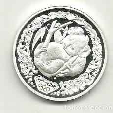Monedas antiguas de Oceanía: 5 DÓLARES DE AUSTRALIA DE 2000 SERIE OLIMPIADAS SYDNEY 2000 KOALA. ONZA DE PLATA PURA. Lote 198659362