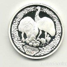 Monedas antiguas de Oceanía: 5 DÓLARES DE AUSTRALIA DE 2000 SERIE OLIMPIADAS SYDNEY 2000 EMU. ONZA DE PLATA PURA. Lote 198660257