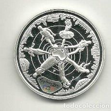Monedas antiguas de Oceanía: 5 DÓLARES DE AUSTRALIA DE 2000 SERIE OLIMPIADAS SYDNEY 2000 EL MUNDO. ONZA DE PLATA PURA. Lote 198660775