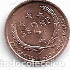 Monedas antiguas de Oceanía: SAMOA,2 SENE 2000.. Lote 198851936