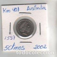 Monedas antiguas de Oceanía: MONEDA AUSTRALIA 5 CTMOS 2002. Lote 199483852