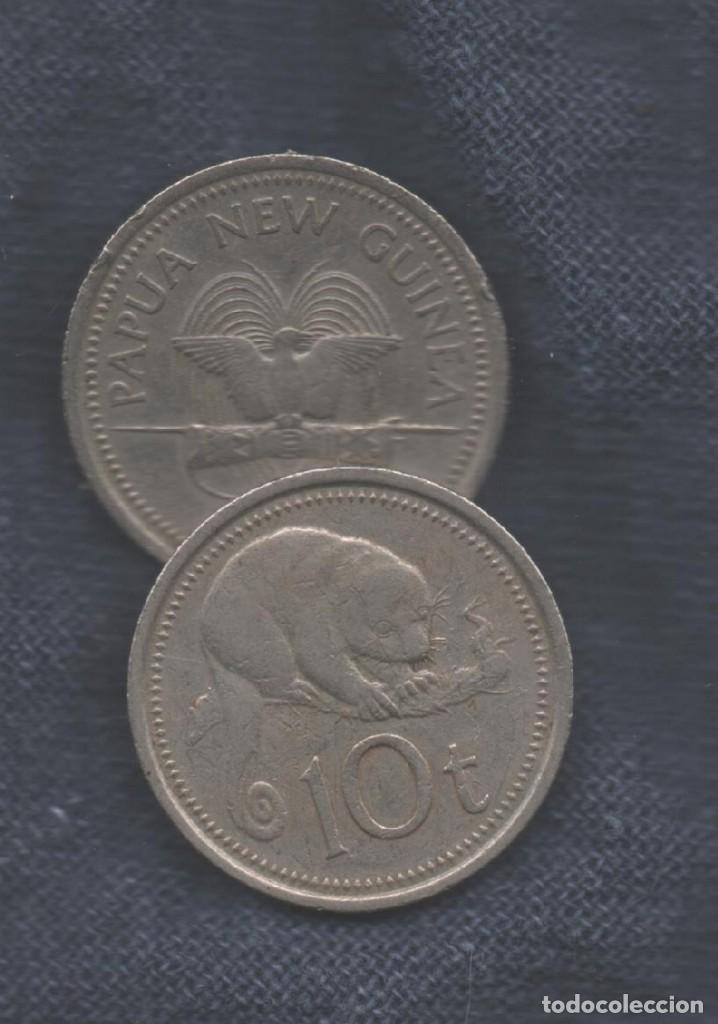 PAPUA NUEVA GUINEA - 10 TOEA (Numismática - Extranjeras - Oceanía)